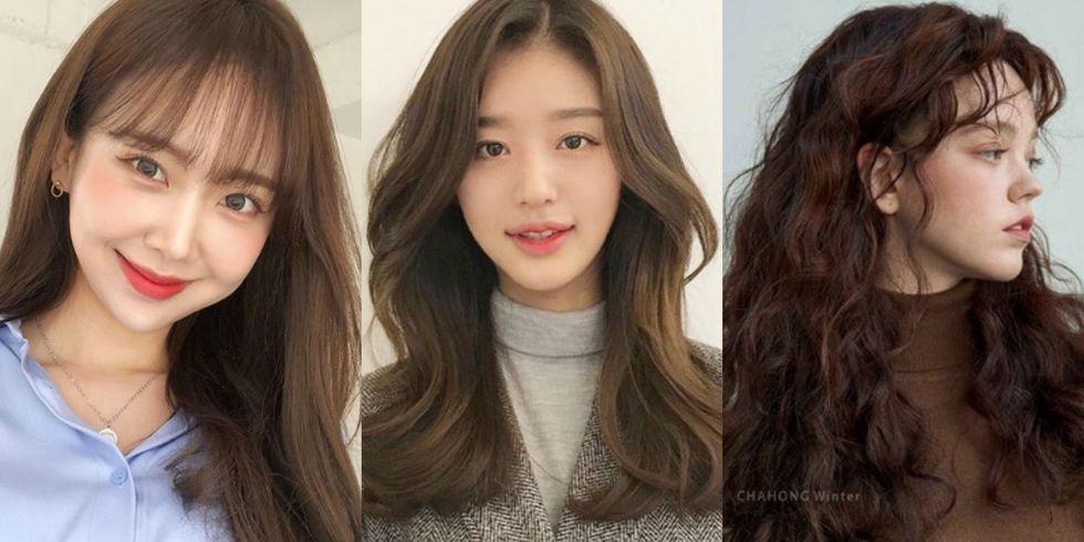 韩妞狂剪的氧气刘海、撒娇刘海让五官变好精致!盘点2019韩国大火的8个小脸浏海发型