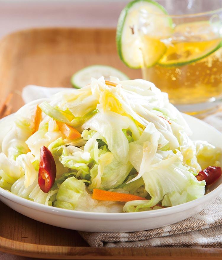 泡菜的做法,泡菜的腌制方法和配料,台式泡菜