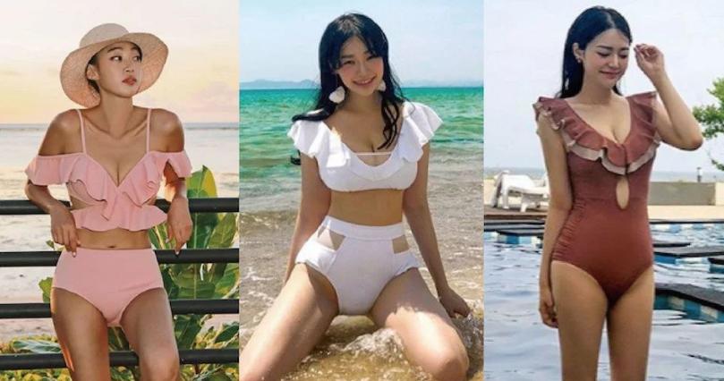各身材泳衣挑选攻略!泳衣这样选,棉花糖女孩也能显白、显瘦不凸肚!